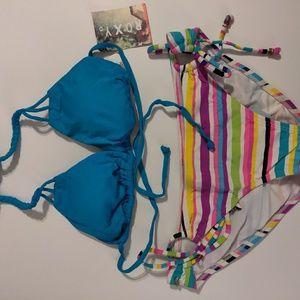 NWT Roxy Bikini Set - MSRP $56